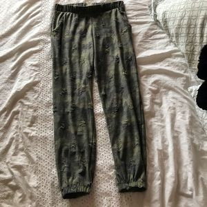 LIKE NEW Distressed Camo Joggers